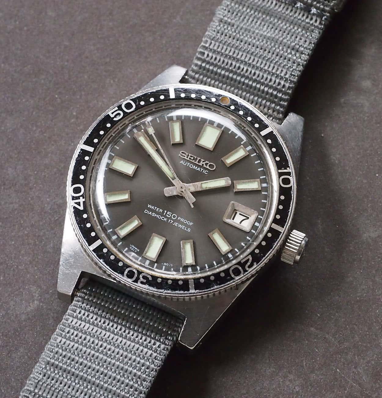 1965 Seiko 62MAS Diver, one of Mr. Hattori's favorite historic Seiko watches