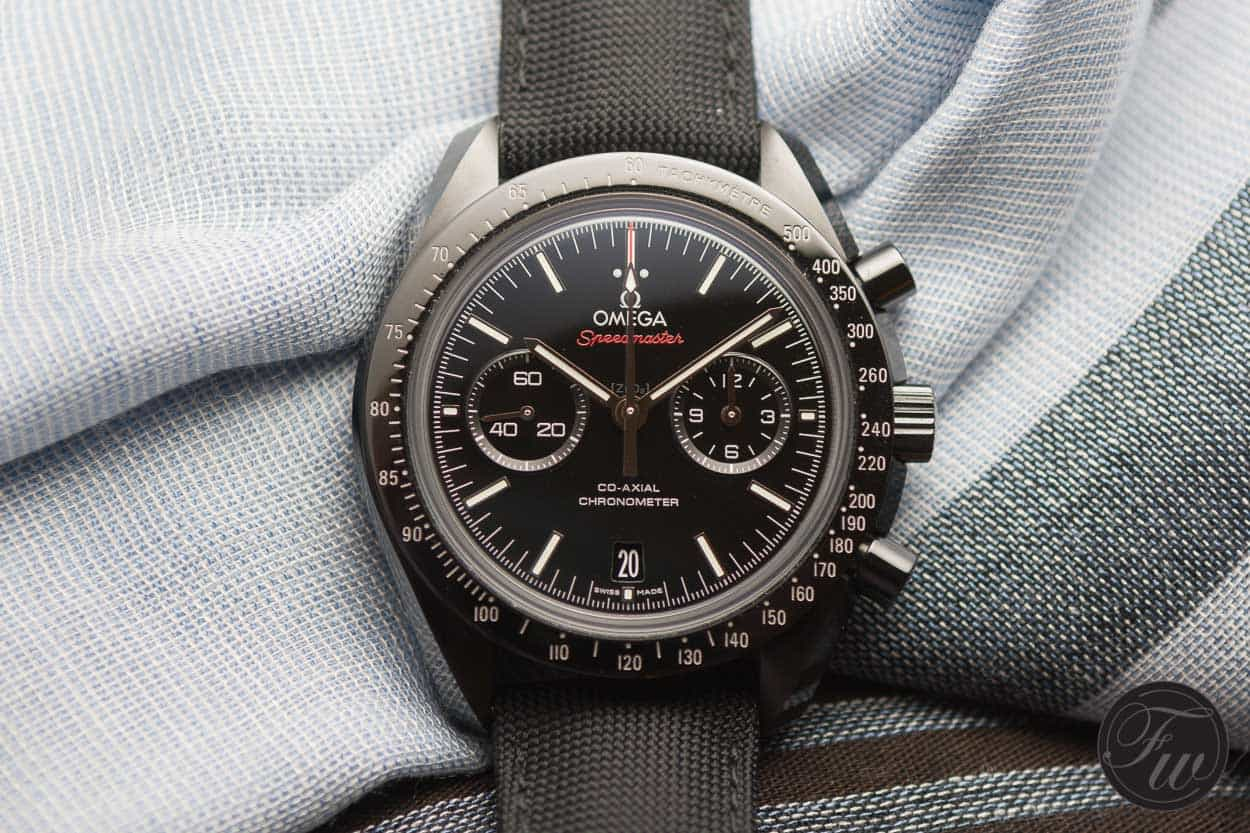 Top 5 Omega Speedmaster Watches : Omega Speedmaster Dark Side of the Moon Reference 311.92.44.51.01.003