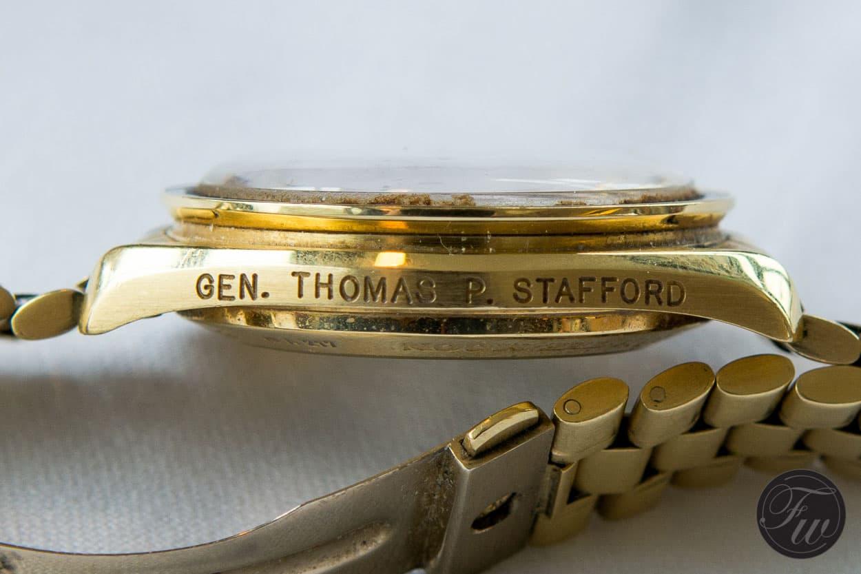 Thomas Stafford Speedmaster Professional
