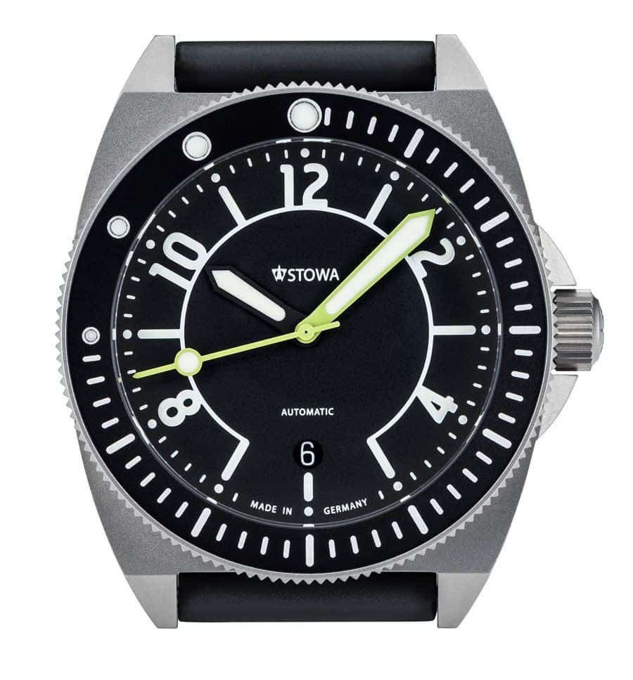 Diving Watches - Stowa Seatime Black Forest Edition
