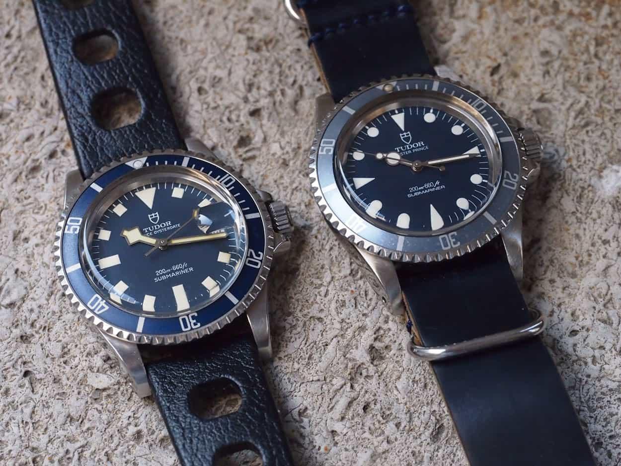 Tudor Submariner 94110 and 94010