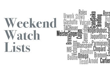 Weekend Watch Lists