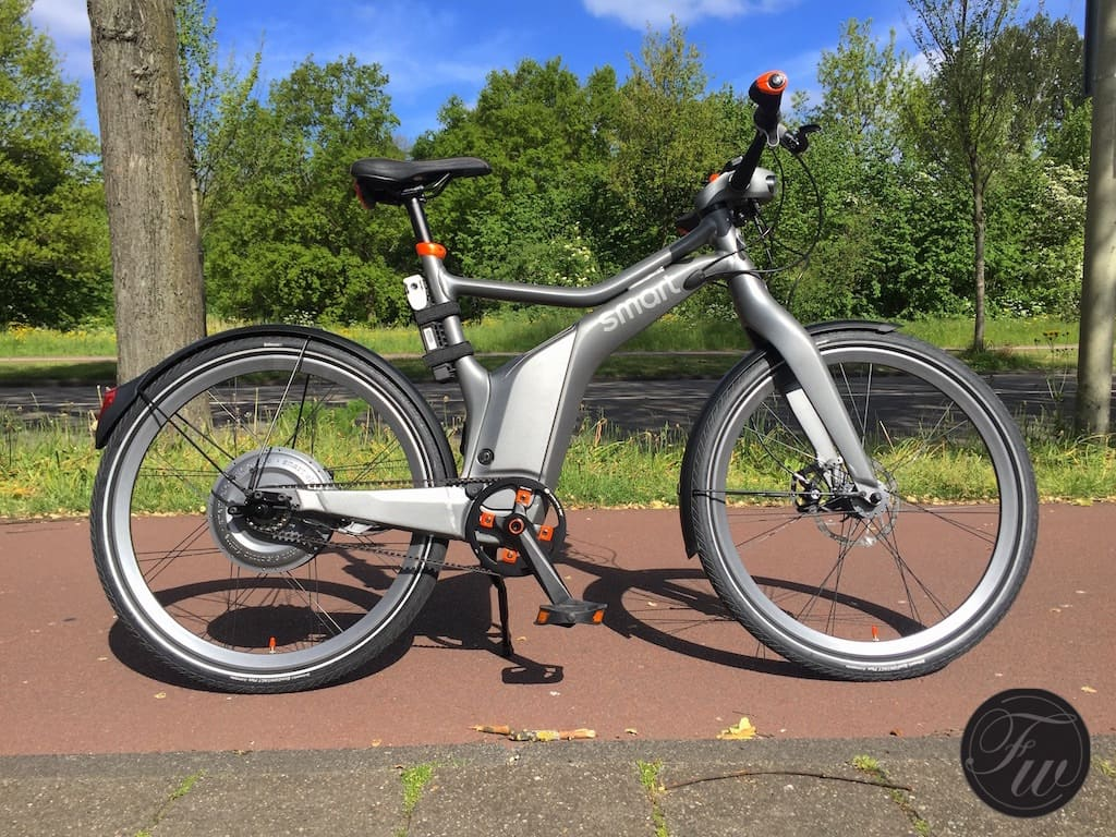 Gerard's E-Bike...well, he is Dutch after all!