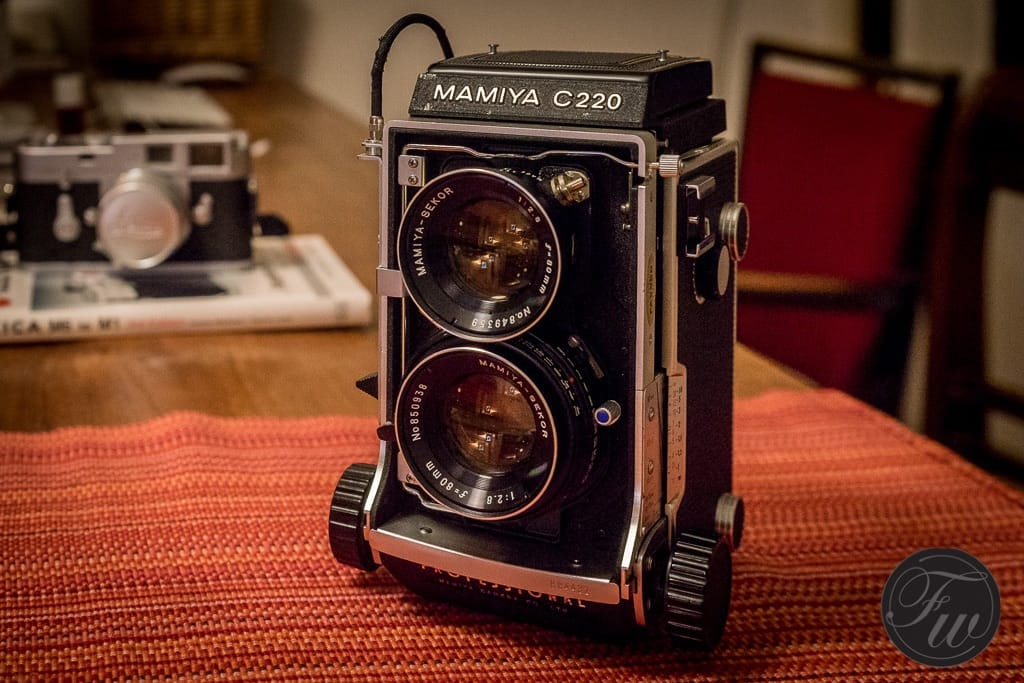A lovely Mamiya...film is back!