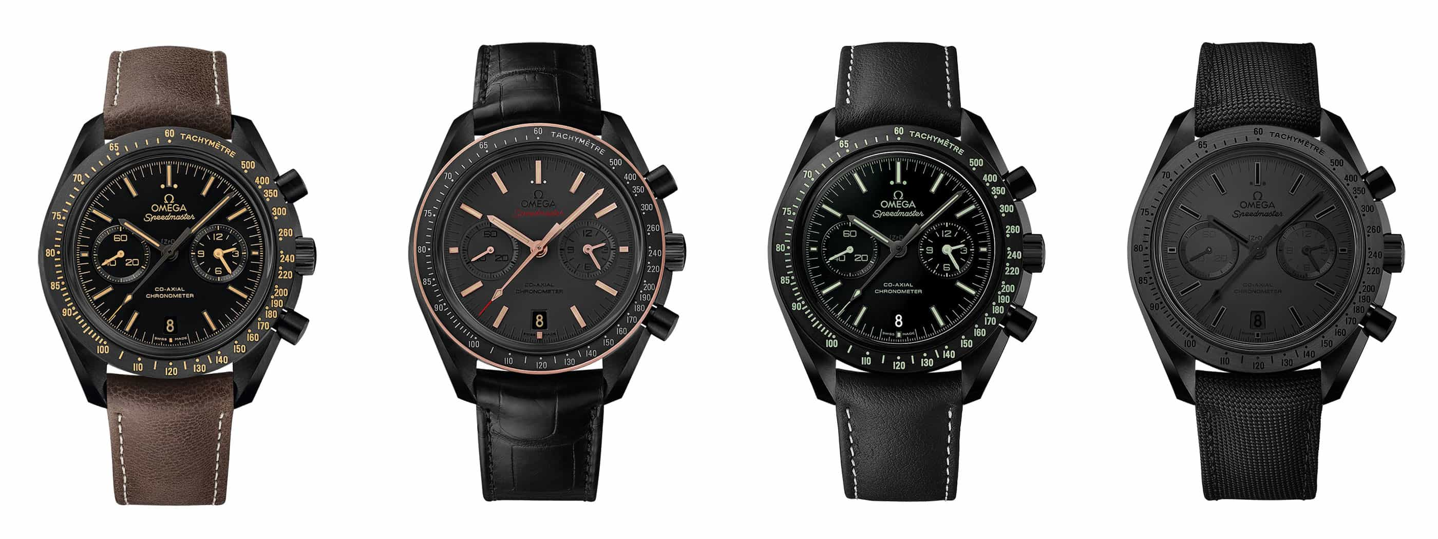 Ceramic Speedmaster - Four Blacks