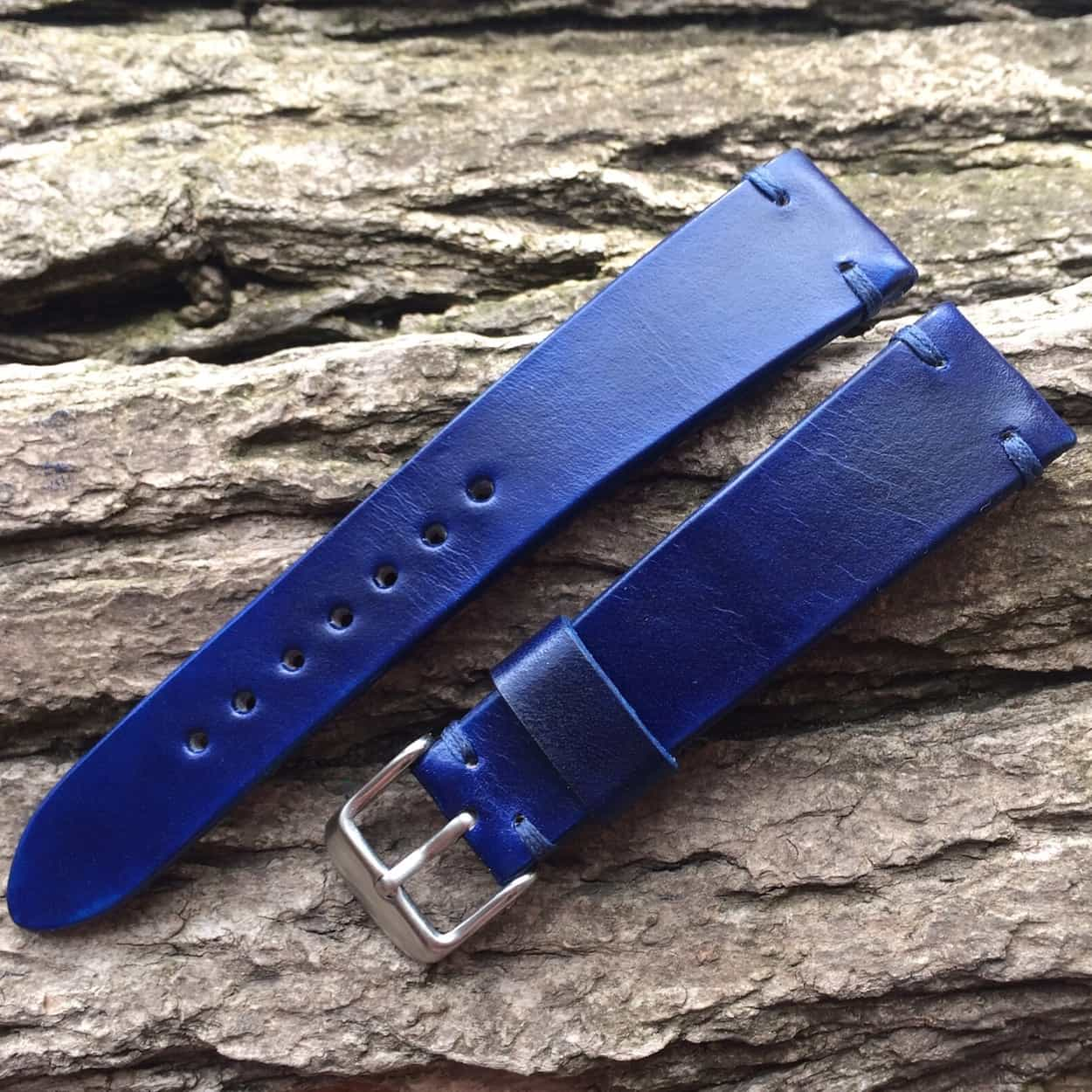 BCatt watch strap in blue