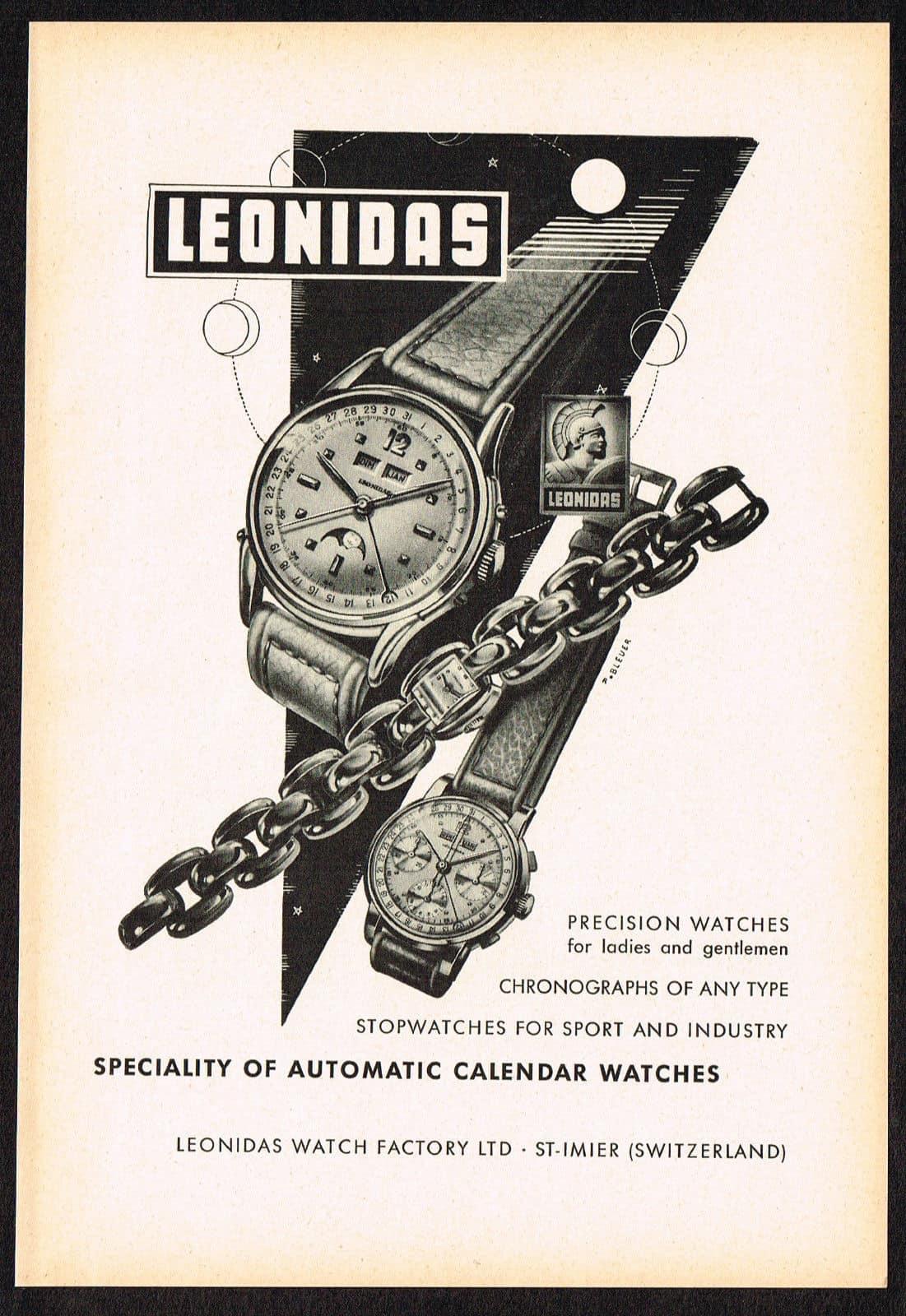 Old Leonidas advertisment