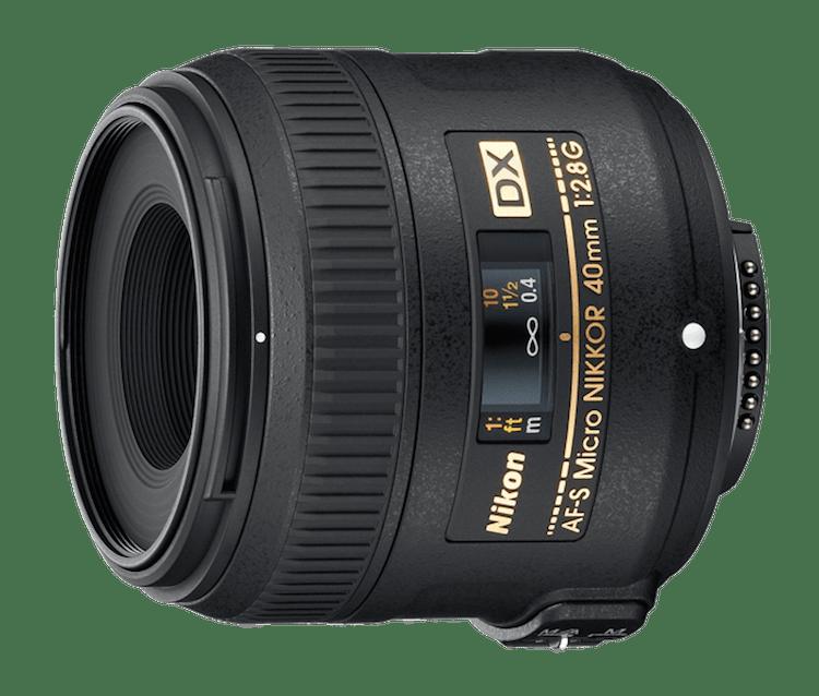 Blaise's new macro lens...